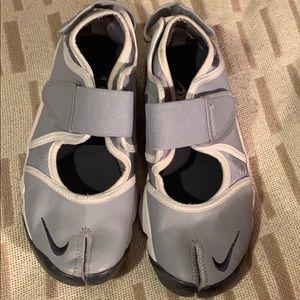 Nike Rift Air Split Toe Trainer Shoes Blue